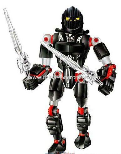 ROBOT toy bricks, building blocks