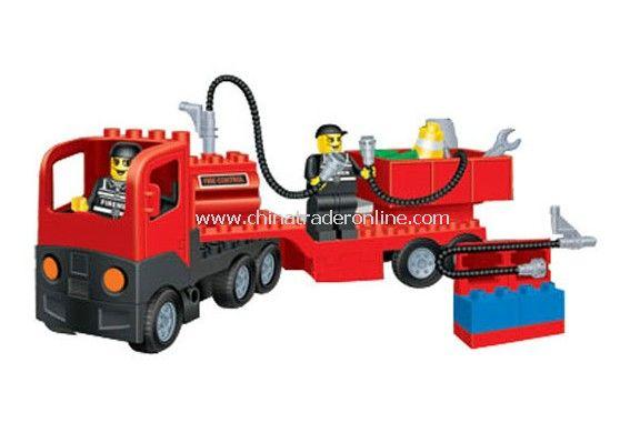 SERVICING PLAZA toy bricks, building blocks