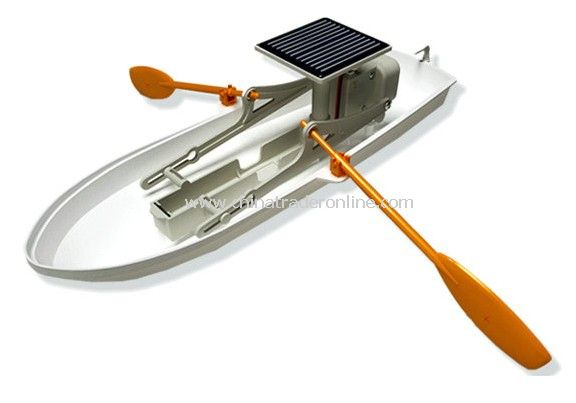 Solar boat from China