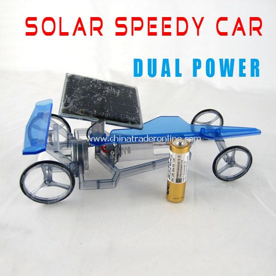 Solar speedy buggy
