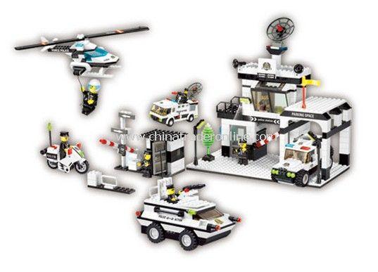 SUPER POLICE toy bricks, building blocks