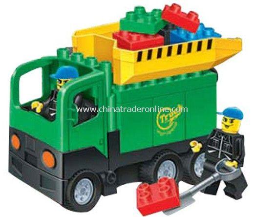 SUPER TIPPER toy bricks, building blocks