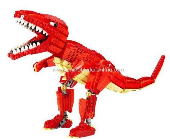 TYRANNOSAURUS toy bricks, building blocks