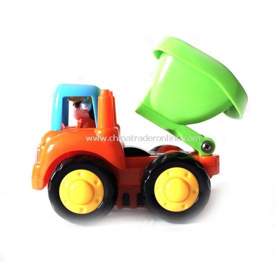 baby engineering trucks set