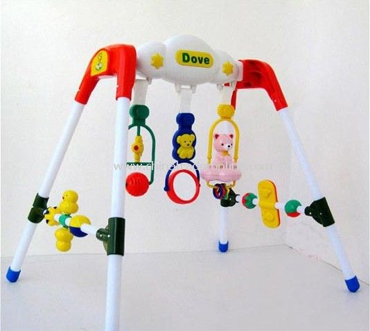 Baby entertainment fitness frame