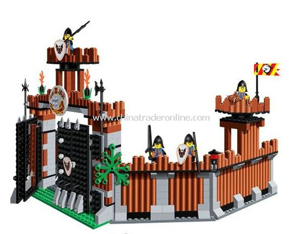 CASTLE building block,1011PCS
