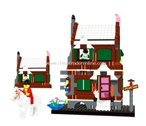 CASTLE building block,304PCS