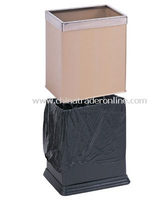 DOUBL LAYER SQUARE ROOM DUSTBIN