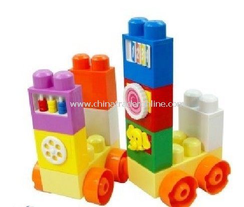 funny building block with multifunction