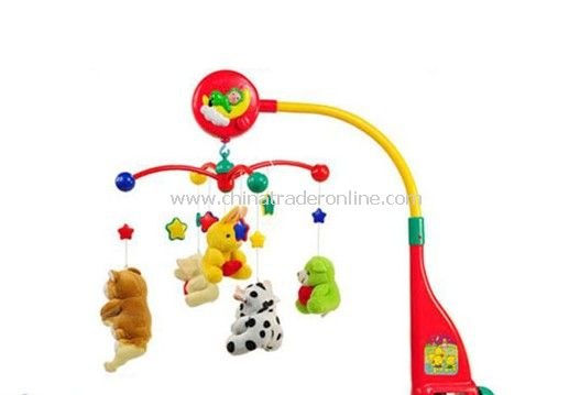 Hanging music Rotating toy with light