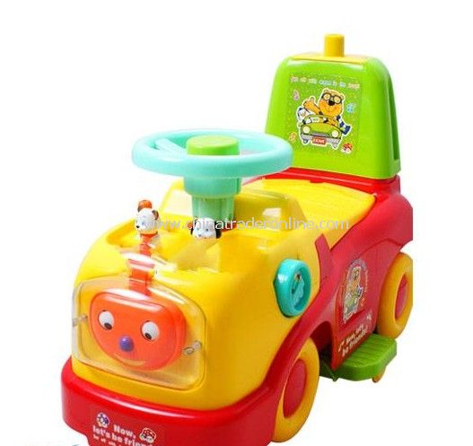 Multi-function childrens ride on car