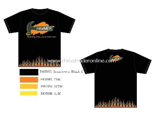 Promotional soccer shirts