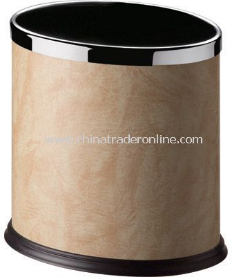 SINGLE LAYER OVAL DUSTBIN WITH FIXED RING