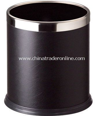SINGLE LAYER ROUND RROOM DUSTBIN WITH FIXED RING