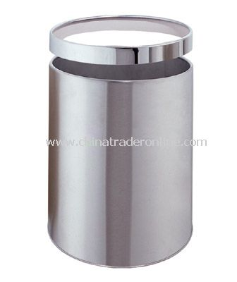 SINGLE LAYER ROUND RROOM DUSTBIN WITH REMOVABLE RING