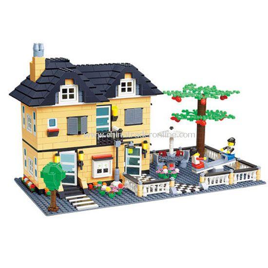 VILLA toy bricks