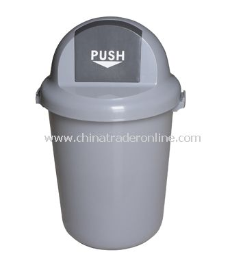 PLASTIC CIRCULAR  GARBAGE CAN