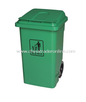 PLASTIC FOOT CONTROL SOLID GARBAGE CAN