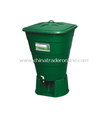 PLASTIC OUTDOOR GARBAGE CAN