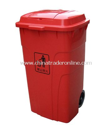 PLASTIC SOLID GARBAGE CAN