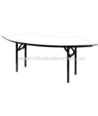 BANQUET FOLDABLE CRESCENT TABLE