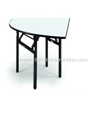 BANQUET FOLDABLE QUARTER ROUND  TABLE 1/4