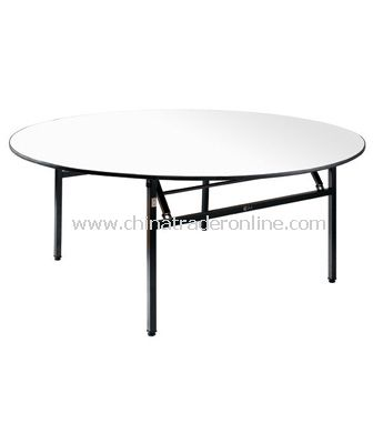 BANQUET FOLDABLE ROUND TABLE from China