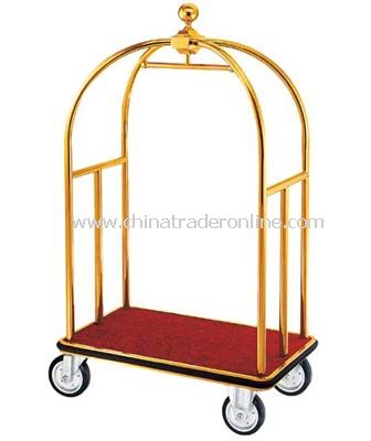 BIRDCAGE CART/WITH HANGER BAR