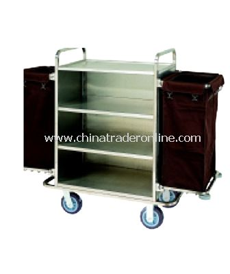 HOUSEKEEPING CART/WITH TWO BAGS from China