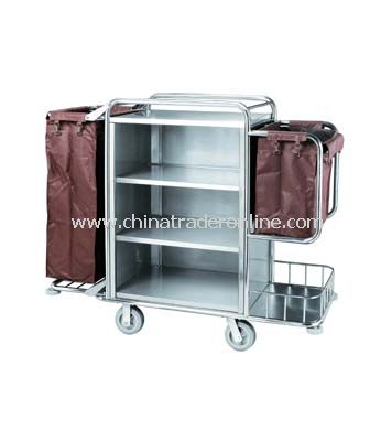 HOUSEKEEPING CART/WITH TWO BAGS