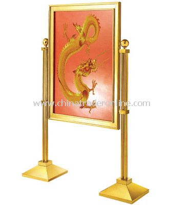 SIGN STAND (BLANK BOARD) from China