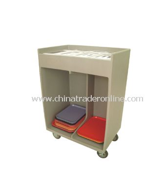 TRAY TABLEWARE CART