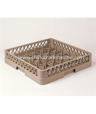 25 COMPARTMENT PLATE & TRAY RACK
