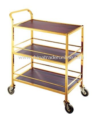 3 LAYER SERVICE  CART /LAMINATED WOOD