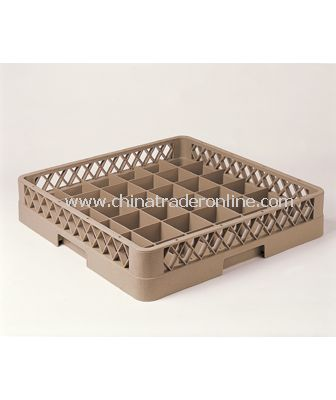 36 COMPARTMENT GLASS RACK