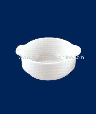 4.5 WHITE PORCELAIN SOUP CUP