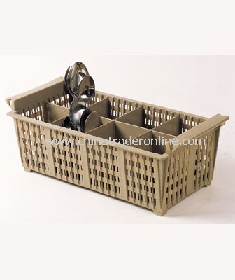 8-COMPARTMENT CUTLERY BASKET WITHOUT HANDLE