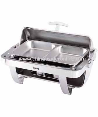 OBLONG CHAFING DISH W/S.S LEGS