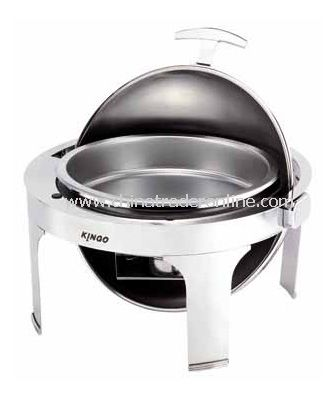 ROUND CHAFING DISH W/S.S LEGS