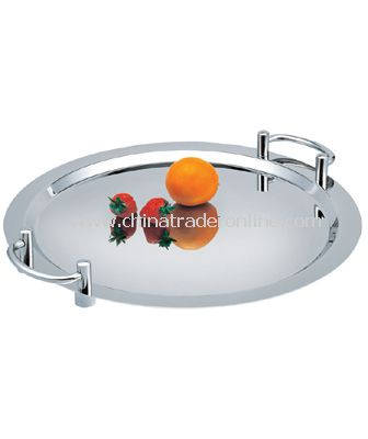 ROUND PLATE/OMNTERY WITH HANDLE