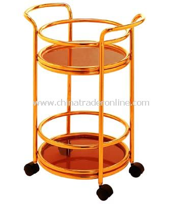 SERVICE  CART/GLASS LAYER