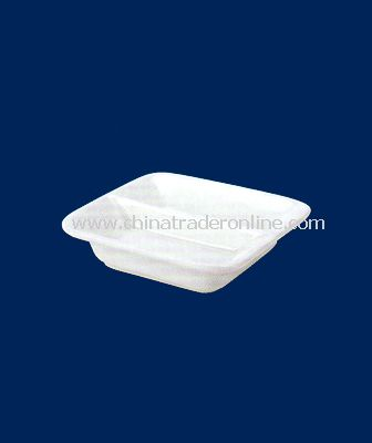 WHITE PORCELAIN SMALL DISH