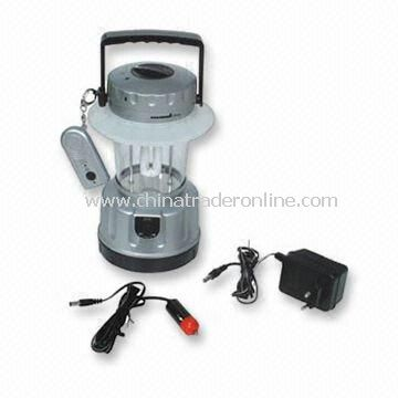 7W Rechargeable Lantern with Remote Control and Cigarette Adapter