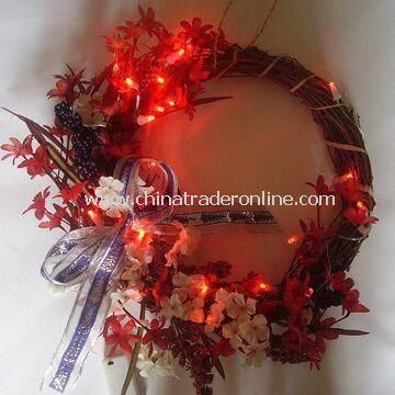 Artificial Wreath, Suitable for Christmas, Home, and Holiday Decorations, Environment-friendly