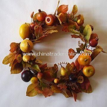 Artificial Wreath, Various Size and Colors are Available, Customized Designs are Welcome