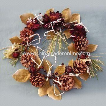 Artificial Wreaths with Competive Price, Various Color and Size are Available