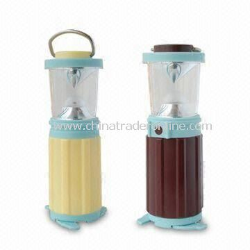 Camping Lantern Light in White Light, Made of ABS Material, with Dimmer Switch Type