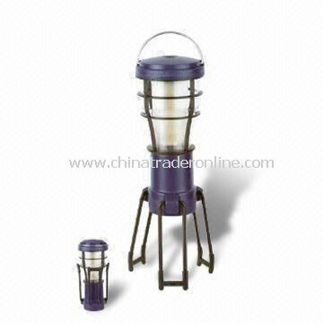 Camping Lantern with 70,000 Hours Lifespan, Made of ABS Material