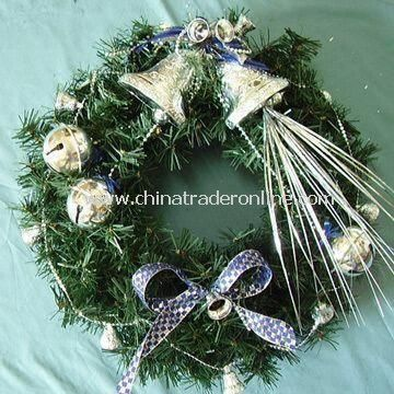 Handcraft Wreath, Made of Silk, with High Quality and Reasonable Price