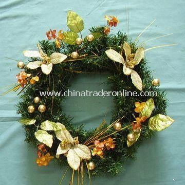 High-quality Christmas Wreath with Reasonable Price